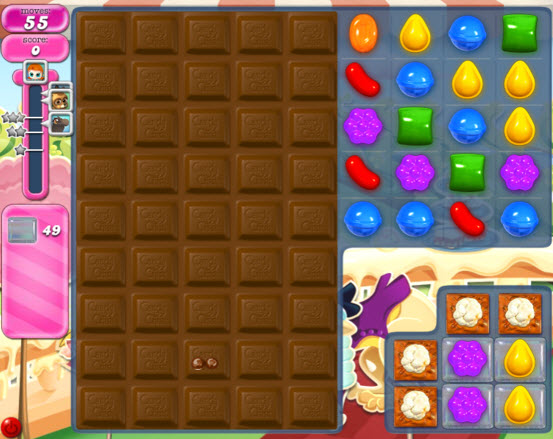 Candy Crush Saga niveau 865