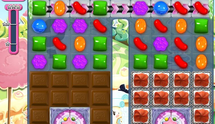 Candy Crush Saga niveau 867