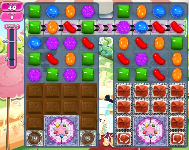 Candy Crush Saga niveau 867