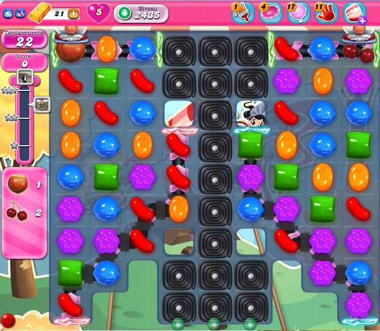 Candy Crus Saga niveau 2435