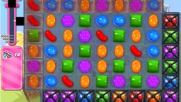 Candy Crush Saga niveau 1658