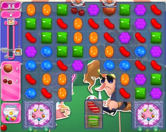 Candy Crush Saga niveau 409