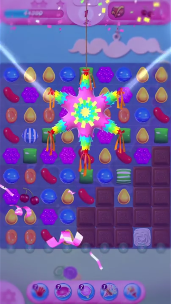 booster festif candy crush saga