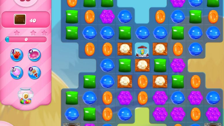 Candy Crush niveau 2444