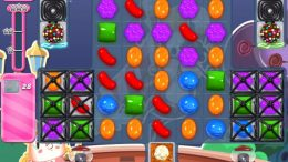 Candy Crush Saga niveau 2184 difficultés
