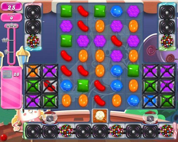 Candy Crush Saga niveau 2184 difficultés