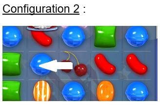 switcher un ingrédient candy crush d'une colonne à l'autre - 2