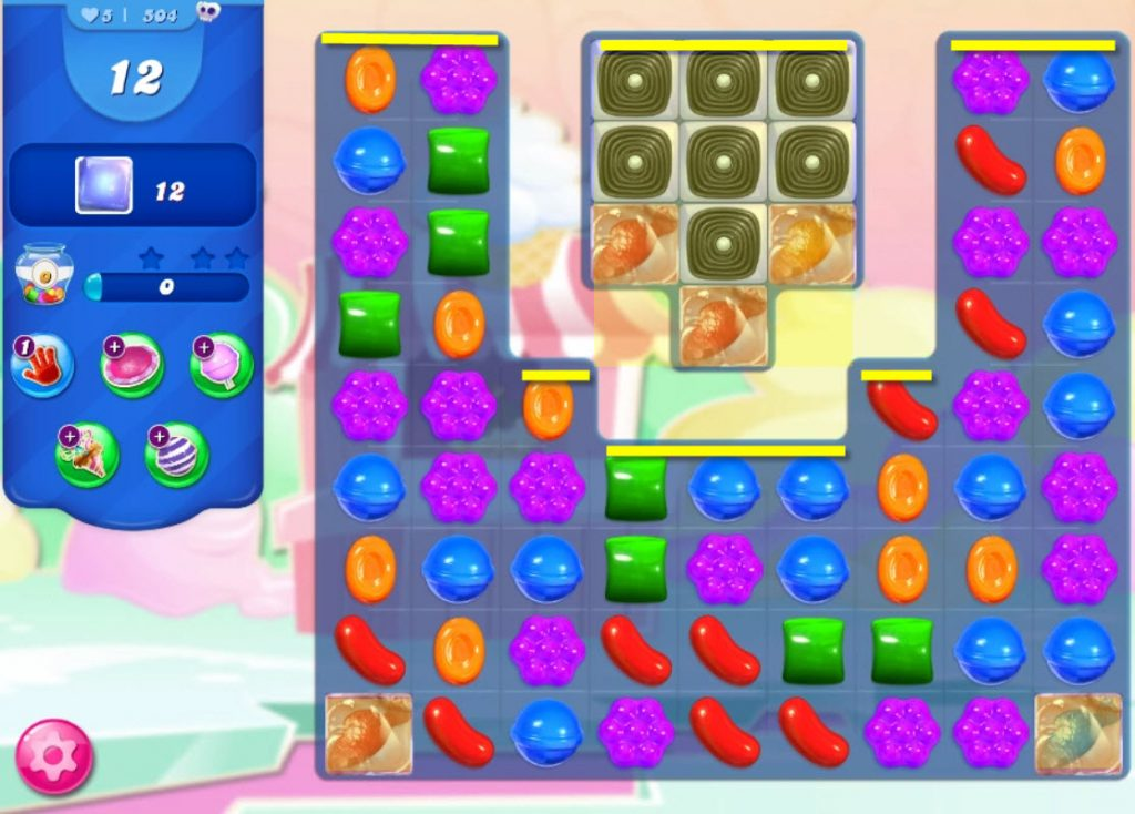 candy crush saga niveau 504 explications