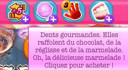 Candy Crush Saga - Booster Dentes gourmandes