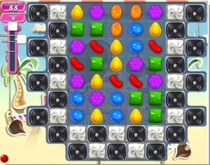 Candy Crush Saga - niveau 125