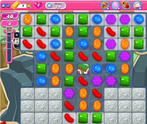 Candy Crush Saga niveau 29