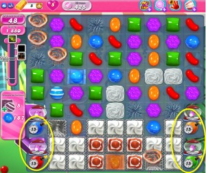 Candy Crush Saga - niveau 425 bis