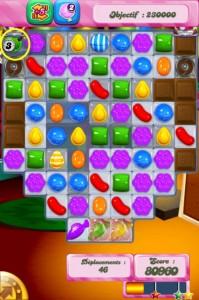 Candy Crush Saga - niveau 275 - bombe