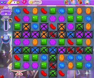 Monde des songes - Niveau 43 Candy Crush Hibou