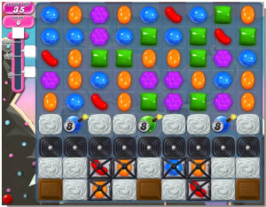 Candy Crush Saga - niveau 104