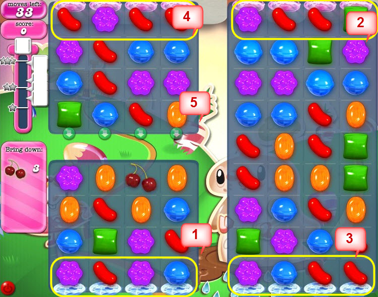 Candy Crush Saga - niveau 76