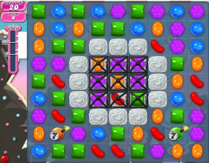 Candy Crush Saga - niveau 99