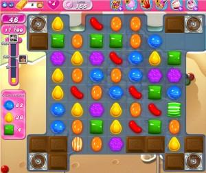 Candy Crush Saga - niveau 165