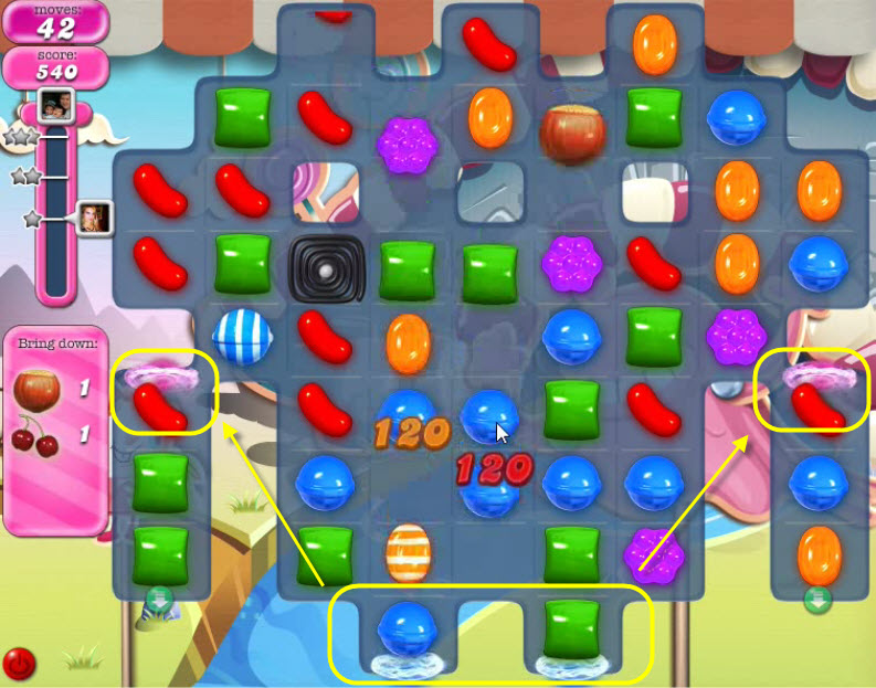 Candy Crush Saga - niveau 95