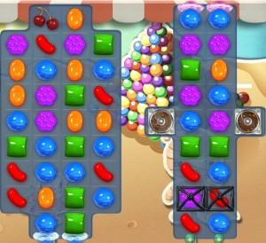 Candy Crush Saga - niveau 158