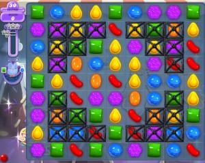 Candy Crush niveau 47 hibou