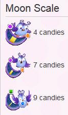 Candy Crush Hibou niveau 68 - Echelle de la lune