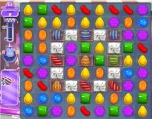 Niveau 412 - Candy Crush - Hibou - Monde des Songes