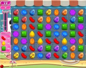 Candy Crush - Niveau 669 - Monde réel - Monde réel - Episode Crunchy Courtyard