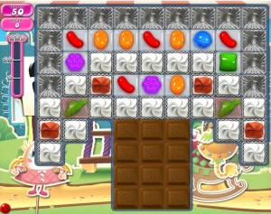 Candy Crush - Niveau 676 - Monde réel - Monde réel - Episode Crunchy Courtyard