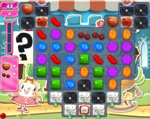 Candy Crush - Niveau 679 - Monde réel - Monde réel - Episode Crunchy Courtyard