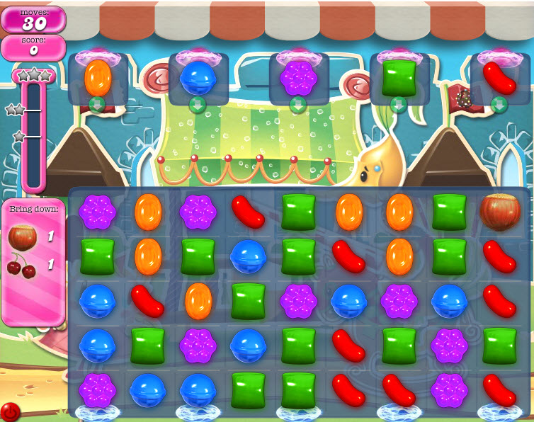 Candy Crush - Niveau 680 - Monde réel - Episode Crunchy Courtyard