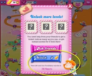 Fée des dents Candy Crush débloque l'épisode