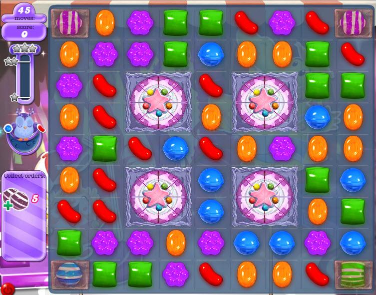 Candy Crush Monde des Songes - Niveau 421