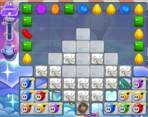 Candy Crush Monde des Songes niveau / level 434