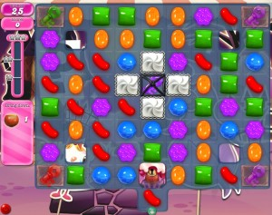 Candy Crush niveau 711