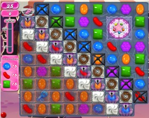 Candy Crush niveau 712