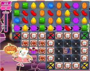 Candy Crush niveau 713
