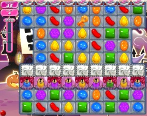 Candy Crush niveau 714
