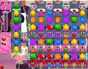 Candy Crush niveau 719