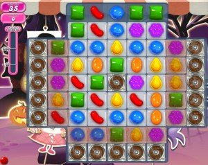 Candy Crush niveau 722