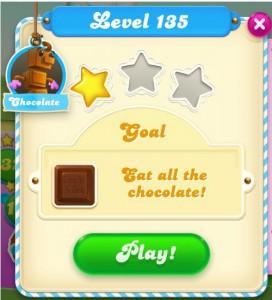 Candy Crush Soda - niveau chocolat