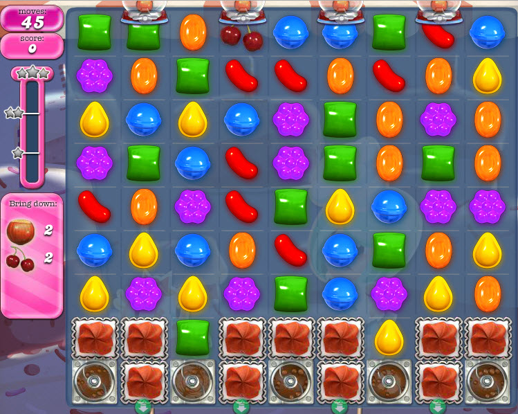 Candy Crush Saga - niveau 361