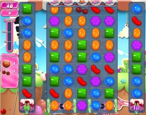 Candy Crush Saga - niveau 726
