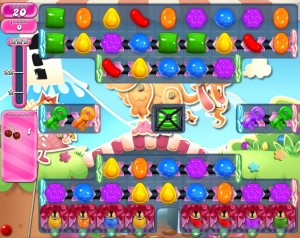 Candy Crush Saga - niveau 734