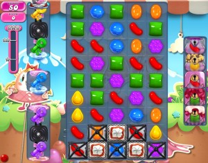 Candy Crush Saga - niveau 740