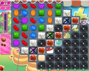 Candy Crush Saga - niveau 742