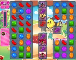 Candy Crush Saga - niveau 753