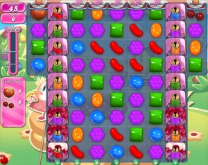 Candy Crush Saga - niveau 754