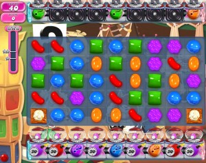 Candy Crush Saga - niveau level 778