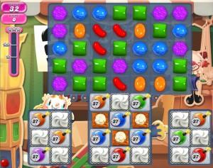 Candy Crush Saga - niveau level 781